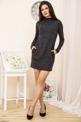 Платье мини цвет Черный