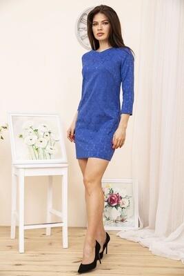 Платье мини, с карманами, цвет Синий