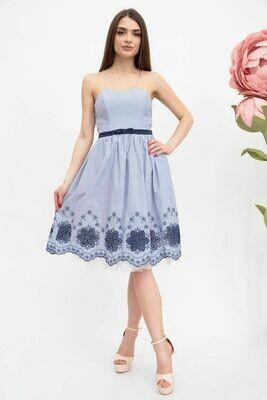 Платье женское цвет Голубой-синий
