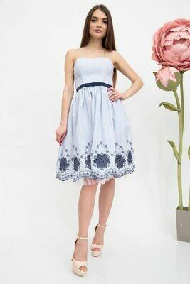 Платье женское цвет Бело-синий