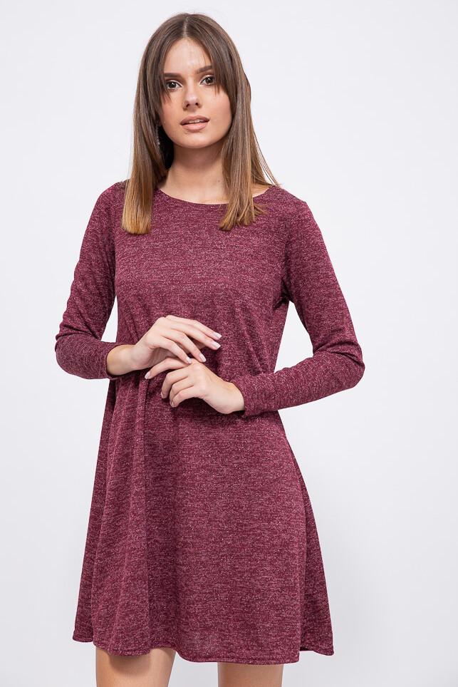 Платье цвет Бордовый