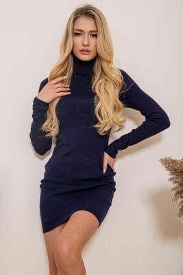 Платье-гольф цвет Темно-синий