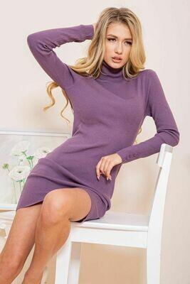 Платье-гольф цвет Фиолетовый