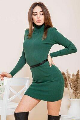 Платье-гольф цвет Зеленый