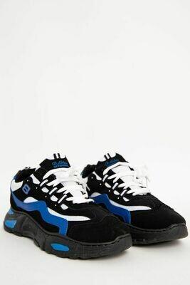Кроссовки мужские цвет Черно-синий