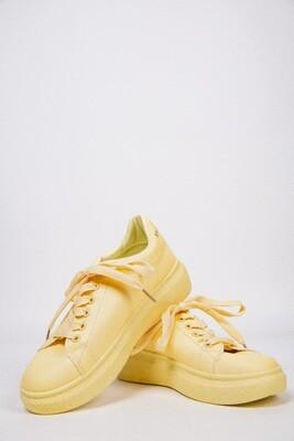 Кроссовки женские цвет Желтый