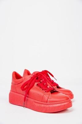Кроссовки женские цвет Красный