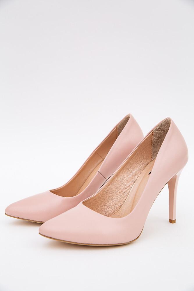 Туфли лодочки на шпильках цвет Пудровый