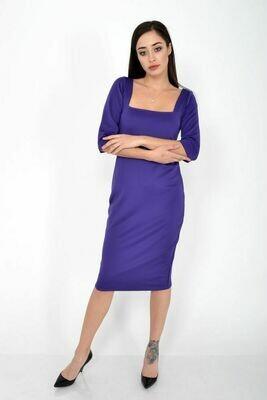 Платье женское цвет Фиолетовый