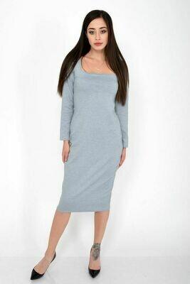 Платье женское цвет Серый