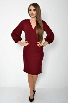 Платье женское цвет Вишневый