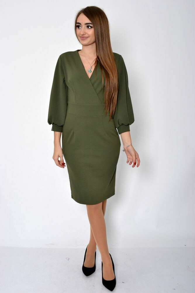 Платье женское цвет Хаки
