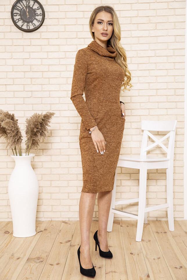 Платье женское цвет Коричневый