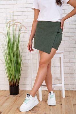Skirt-shorts for women, color Green