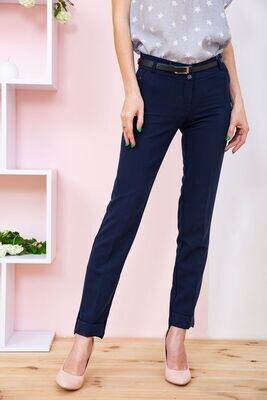 Trousers for women color Dark blue
