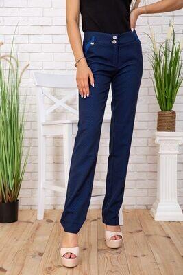 Women's trousers color Blue