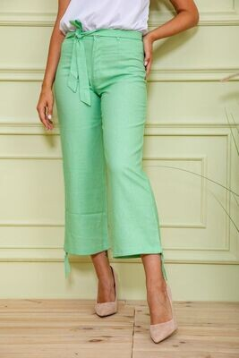 Trousers for women color Light green