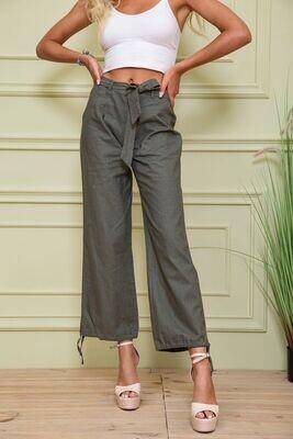Women's trousers color Khaki