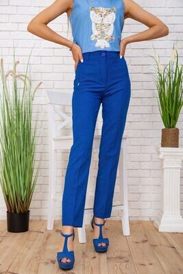 Trousers for women color Electric