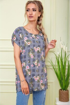 Women's blouse color Gray