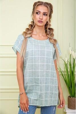 Women's blouse color Olive