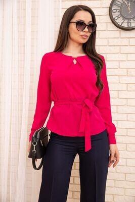 Women's blouse color Crimson