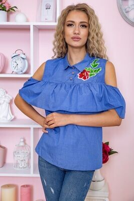 Women's blouse color Peach