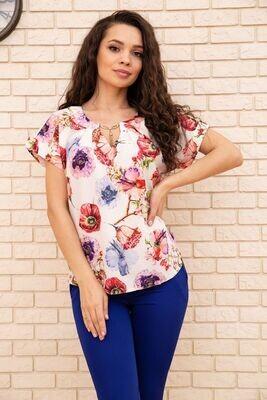 Women's blouse color Blue