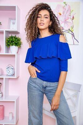 Women's blouse color Electric