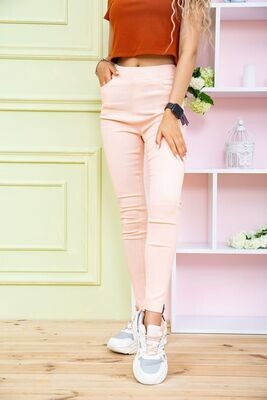 Jeggings for women color Peach