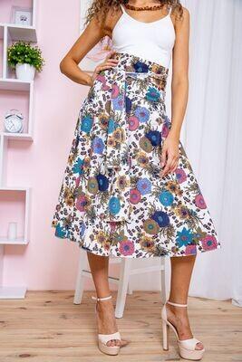 Skirt color multicolored
