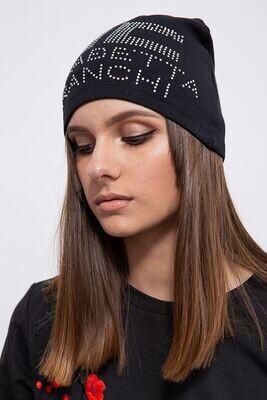 Women's hat color Black