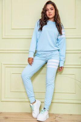 Sports suit female color Blue