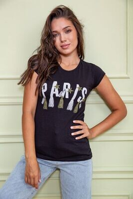 T-shirt for women color Black
