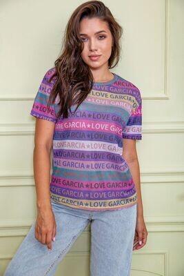 Women's T-shirt color Multicolor