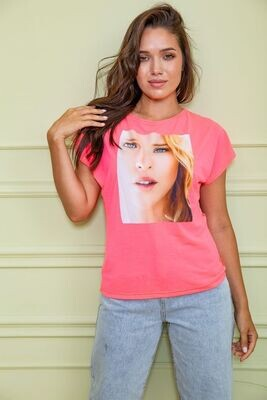 T-shirt for women color Pink
