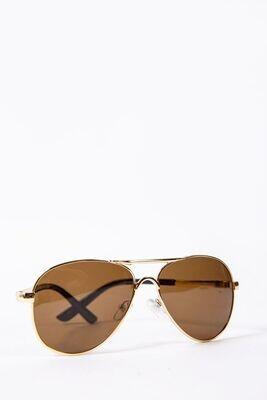Women's sunglasses Aviator color Brown
