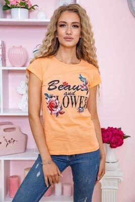 T-shirt for women color Light pink