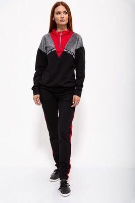 Sports suit for women. color Black powder