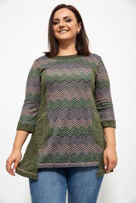Women's tunic color Green