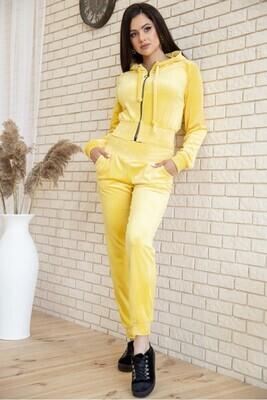 Sport suit women's velor color Mint