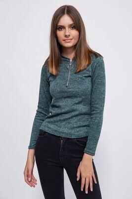 Women's jacket color Green