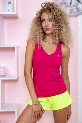 T-shirt for women waiting for fitness color Crimson
