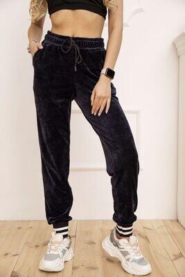 Pants for women velor color Khaki