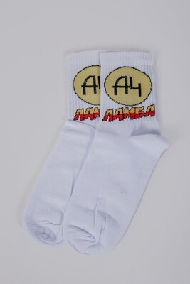 Unisex socks color Black