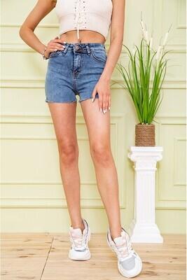 Denim shorts for women color Blue