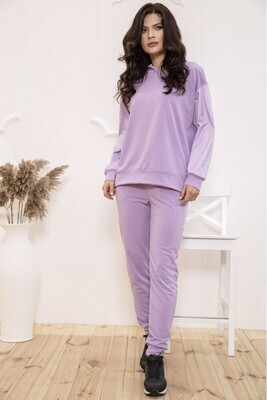 Tracksuit female solid color Lilac