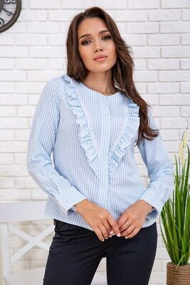 Women's shirt in a striped color Red and white