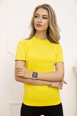 Women's sports t-shirt color Yellow