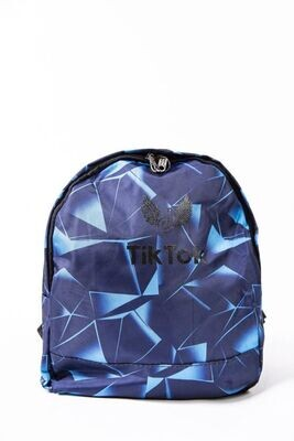 Tik Tok Backpack color Blue